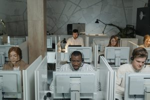 why working in call center